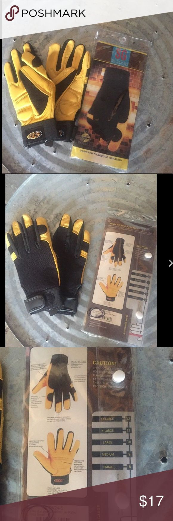 Seattle Inc gloves Anti Vibration Deerskin Gel Seattle Glove Incorporated   Designed to reduce vibration   Size Small   Deerskin   Gel Palm   Brand New! Perfect as a work glove or for any sport that vibrates your hands. Would make a great gift! Seattle Inc Accessories Gloves & Mittens