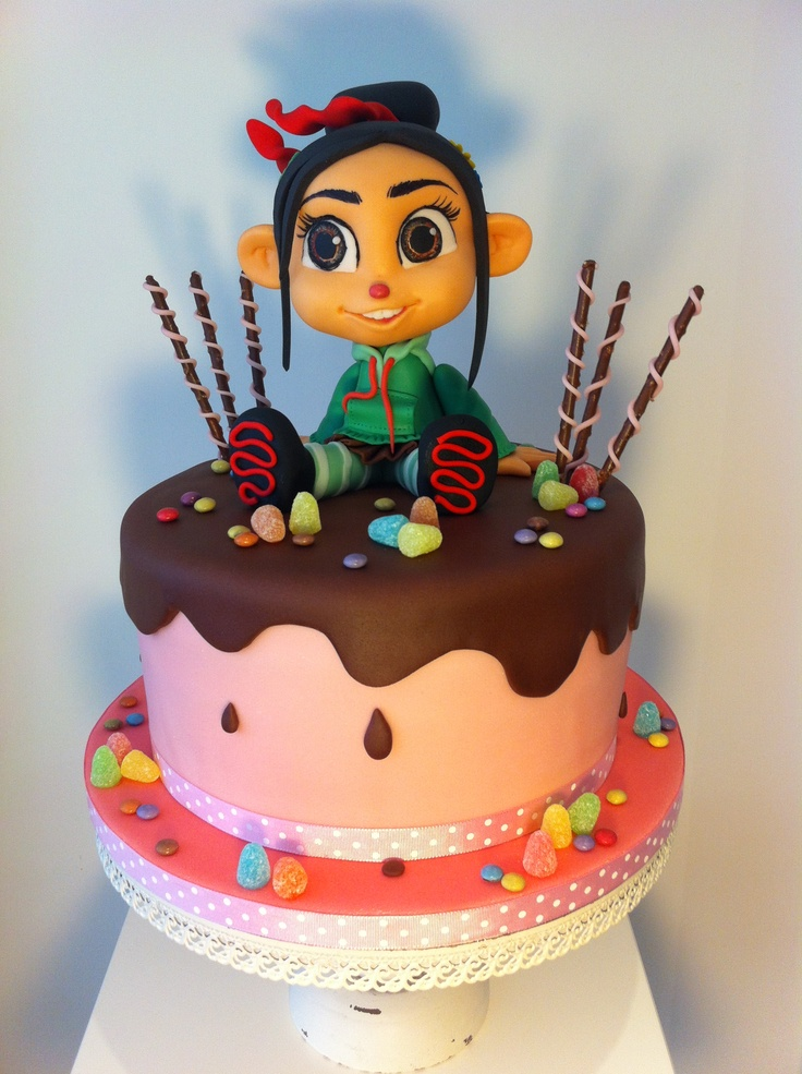 Vanellope cake My Style Pinterest Cakes