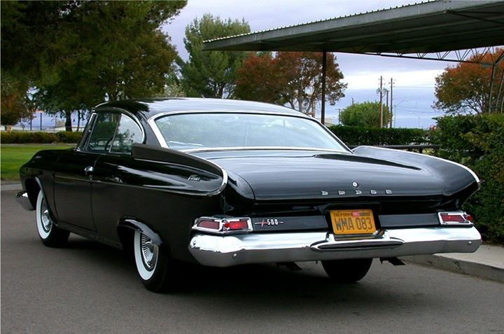 1961 dart pioneer 500 2 door hardtop love old cars 2. Black Bedroom Furniture Sets. Home Design Ideas