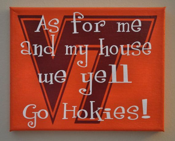 Step in my house wearing orange and blue and you'll be asked to leave immediately.