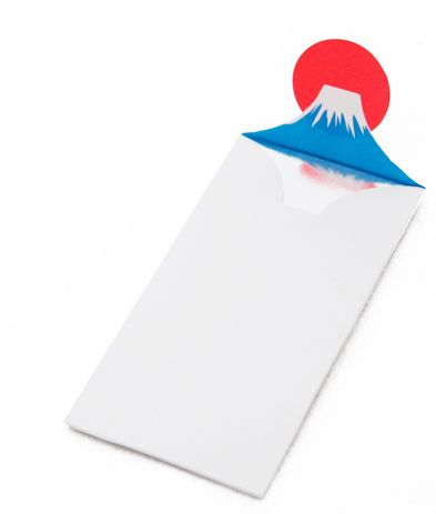 Mount Fuji envelope. good for events held in japan. thank you card, hard invite etc...