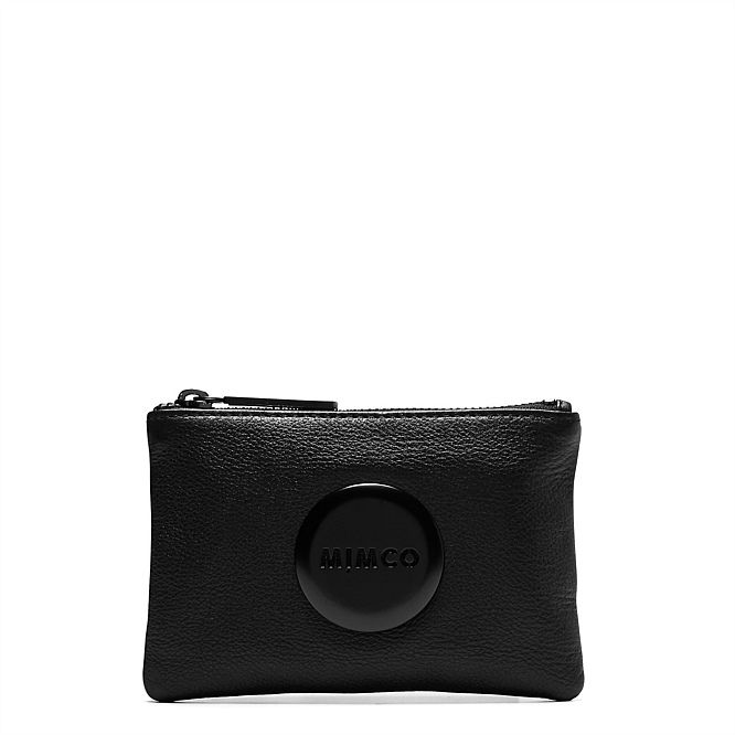 matte black hardware | MIMCO Mim Pouch - just bought this :D
