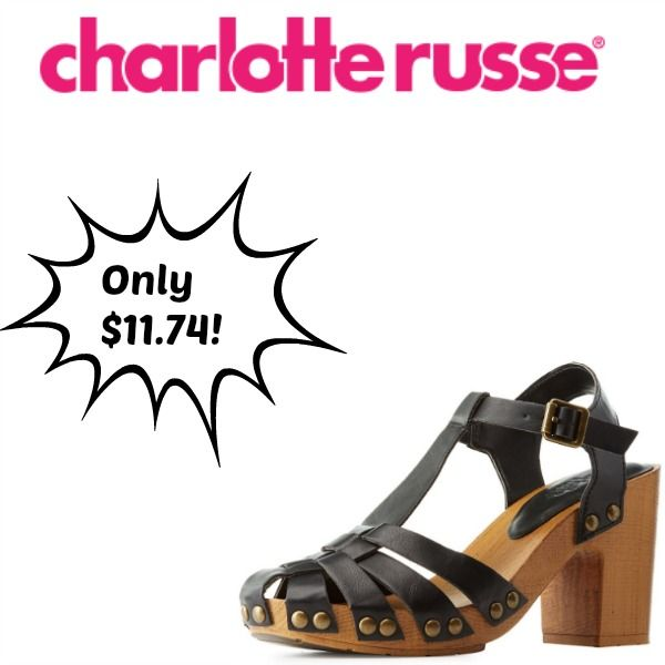 Charlotte Russe Promo Code: Score 50% Off Clearance Shoes Score an extra 50% off clearance shoes with our Charlotte Russe coupon. Its…