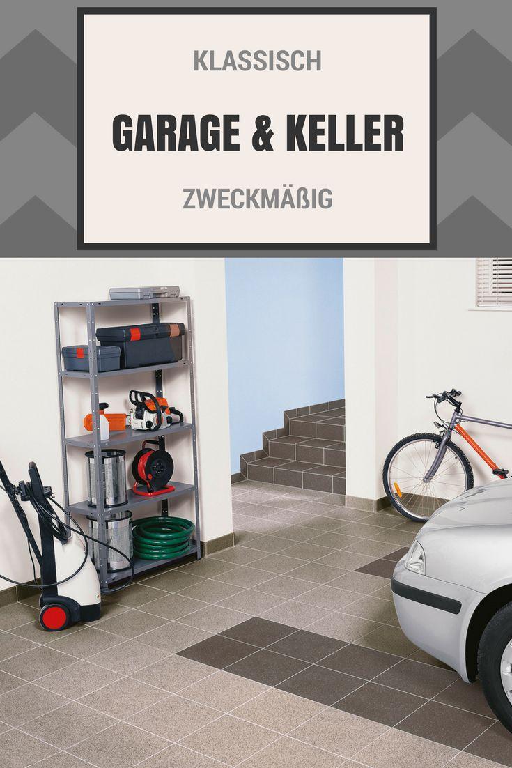 Garage Keller Fliesen Feinkorn