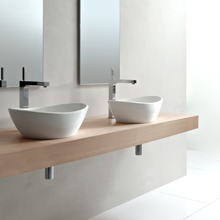 25 beste idee n over double vasque op pinterest dubbele wastafel badkamer dubbele douche en - Deco toilet grijs ...