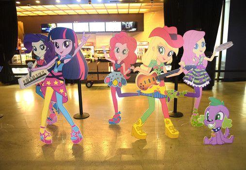 "Hasbro Studios presents the ""My Little Pony: Equestria Girls: Rainbow Rocks"" premiere in Los Angeles"