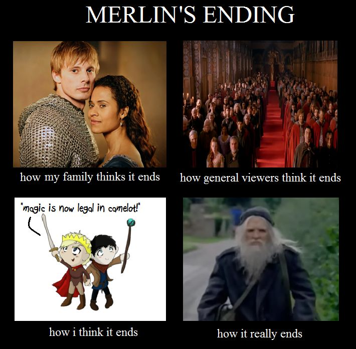 The. Ending. Was. Bull. Sh*t. Excuse my language but REALLY?! The Adventures Of Merlin, one of - no - THE BEST series ever created and put on TV and THATS ITS ENDING ARE YOU ACTUALLY KIDDING ME?!? Whoever came up with that idea needs to be fired immediately.