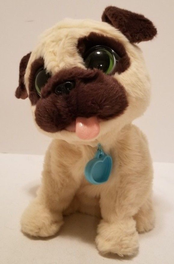 Vguc Furreal Friends Interactive Animatronic Jj My Jumpin Pug Dog