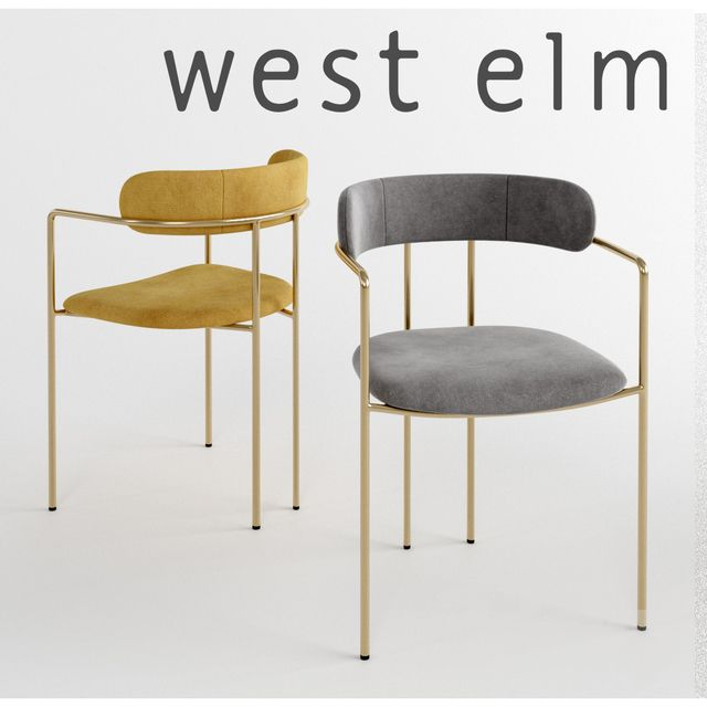 Fantastic 3D Models Chair West Elm Lenox Dining Chair In 2019 Beatyapartments Chair Design Images Beatyapartmentscom
