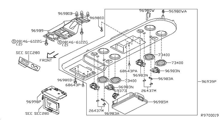 2010 Nissan Armada OEM Parts - Nissan USA eStore