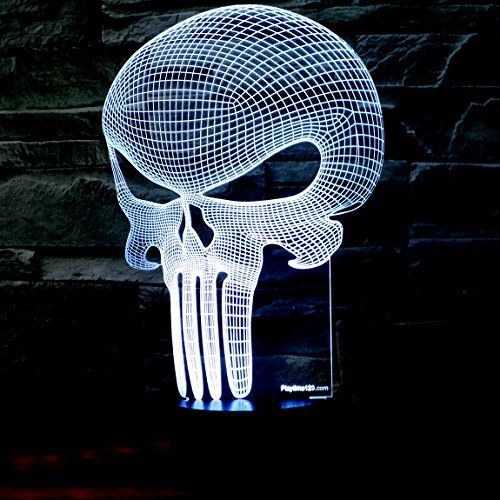 3D Punisher Skull Lighting - $30                                                                                                                                                     More
