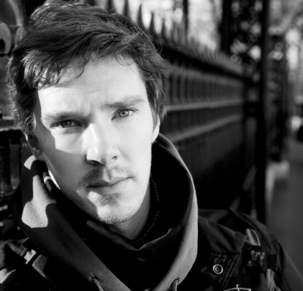 BEnedict Cumberbatch. I think I'll just make all my heroes look like him after seeing him interviewed