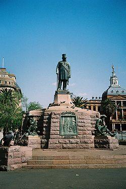 Die Krugerstandbeeld is 'n standbeeld op die middelpunt van Kerkplein, Pretoria, ter ere van die oud-president Paul Kruger. Die standbeeld is deur Anton van Wouw ontwerp en die projek is oorspronklik deur Sammy Marks gefinansier