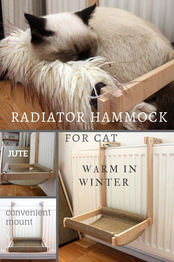 Warm Cat Hammock Hanging Kitten Bed Eco Friendly Pet Etsy Kitten Beds Cat Bed Cat Hammock