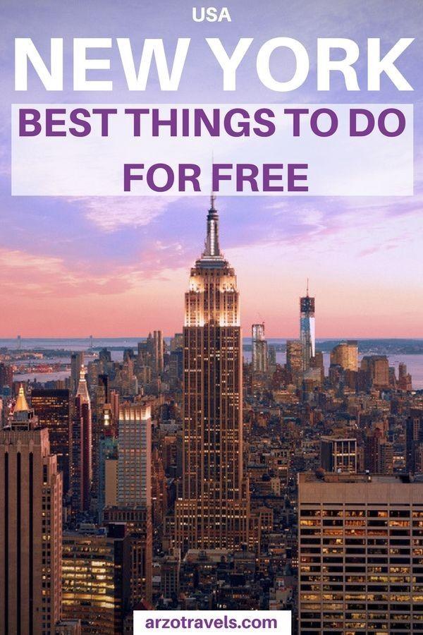 New York Mit Kleinem Budget Wie Man New York Mit Wenig Geld Geniesst New York City Reise New York Reiseideen