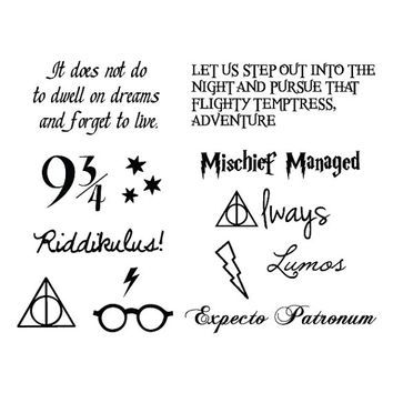 small tattoo behind ear harry potter - Google Search