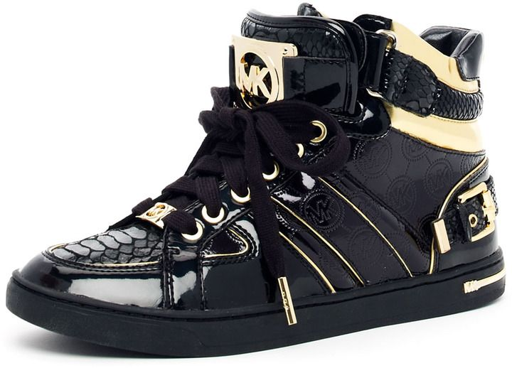 e89575080fbbe michael kors gold high top sneakers sale   OFF65% Discounted