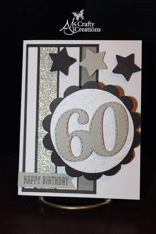 Ctmh male 60th birthday card