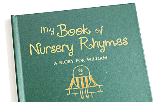 My Book of Nursery Rhymes | Simply Personalized