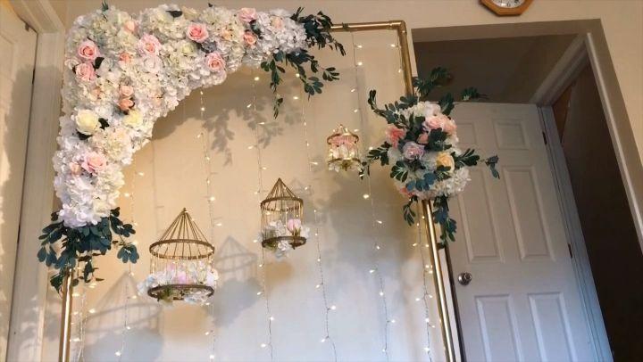DIY-Floral Swag Arch   – NooZay DIY videos