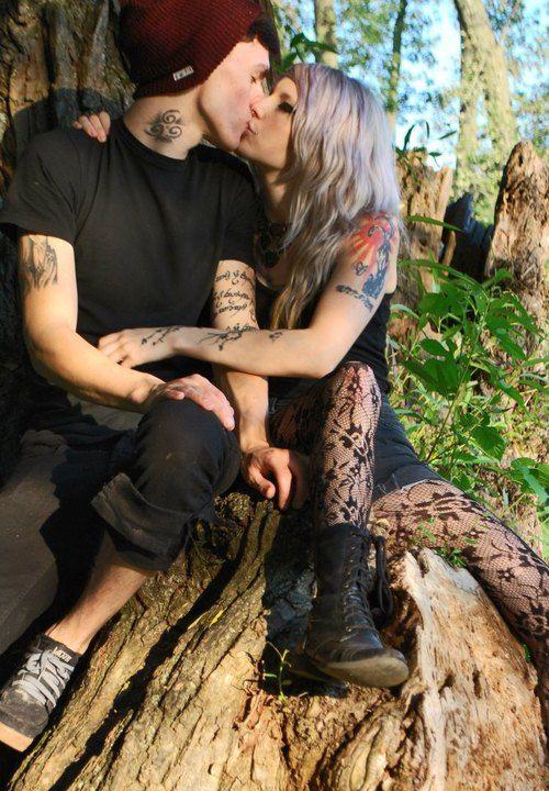 heavy tattooed lovers