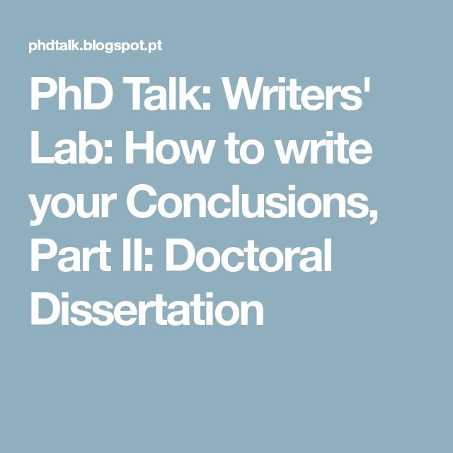 your doctoral dissertation Your doctoral dissertation isn't just a piece of course work that will get marked then never read again at the least it's going to be available in your university library, and listed in the catalogs of many more.
