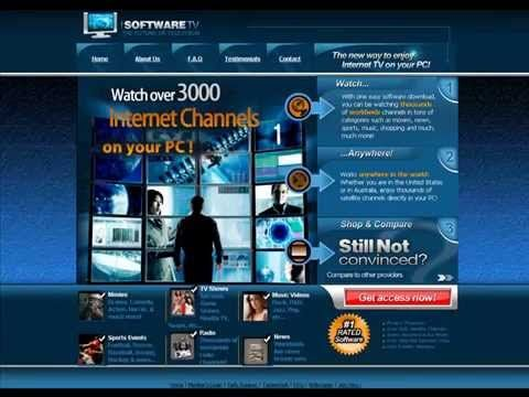 Top 10 Best Internet TV Software Packages - Adds another dimension to television without using a television. Explore and watch the best of Internet TV through software that delivers 1000s of live and on-demand global TV channels to computers. Watch favorite TV shows, movies and sports anytime, anywhere!