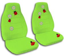 green seat covers for cars - Google Search
