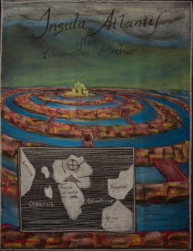 5th Grade: Ancient Cultures and History; Atlantis, after Athanasius Kircher