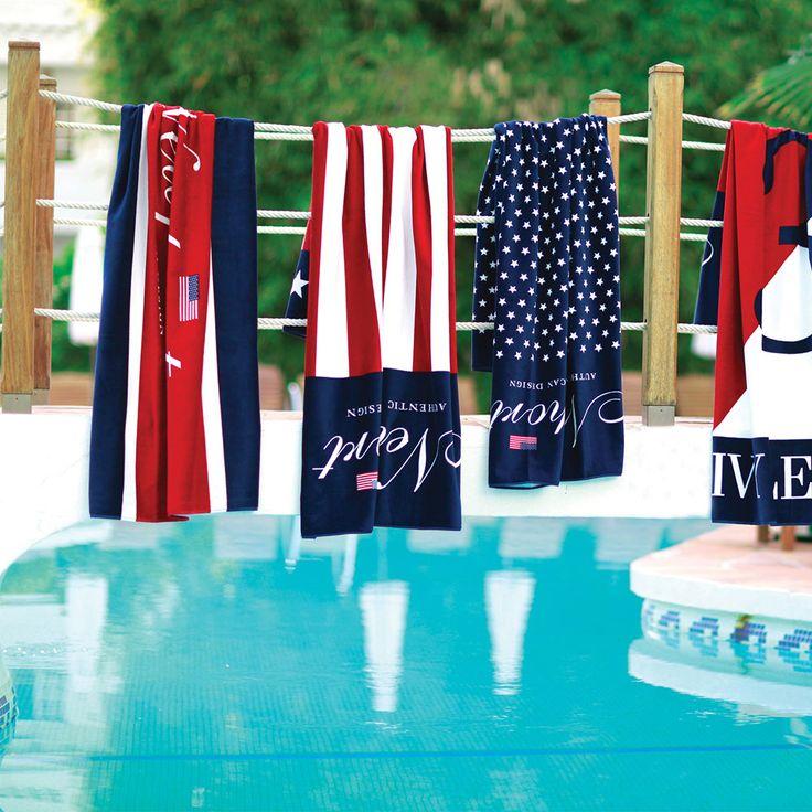 Monahan Beach Towel- Newport - Newport - RoyalDesign.com #TOWEL #beach #poolside #pool #design #interior #interiordesign #forthebeach #beach2014 #news #royaldesign #newport