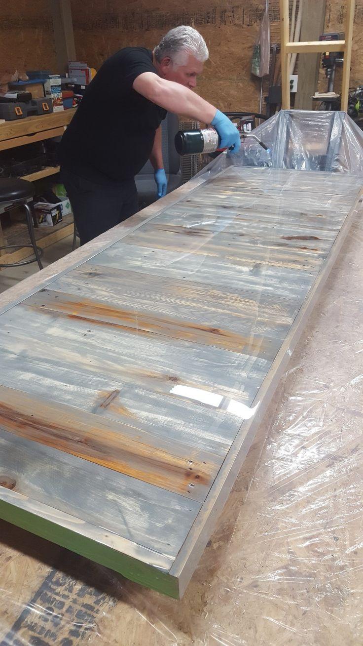Pallet Wood Counter Top Butcher Block Countertops Wood