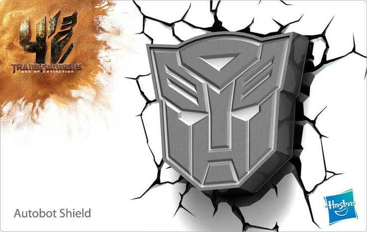 There's more than meets the eye with our new 3D TRANSFORMERS Deco Lights! Coming soon: http://bit.ly/1ivfvbQ