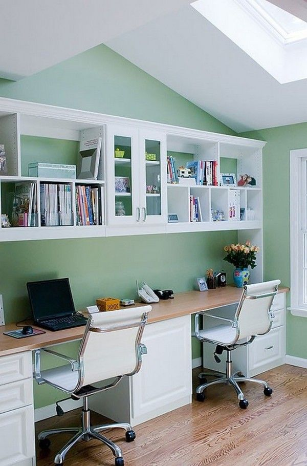 The 25+ Best Double Desk Office Ideas On Pinterest | Double Desk, Desks And  Study Room Decor