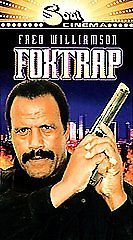 Foxtrap New in Plastic VHS with Fred Williamson ***FREE SHIPPING***