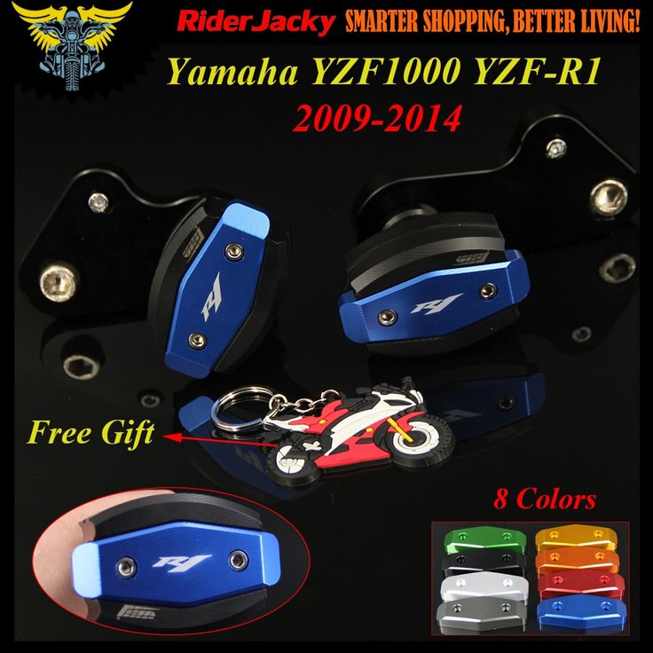 44.15$  Buy here - CNC Blue Motorcycle Frame Slider Anti Crash Protector For Yamaha YZF R1 YZF1000 YZF-R1 09-14 2009 2010 2011 2012 2013 2014   #buyonline