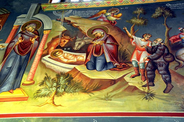 The Panagia Dexia Church in Thessaloniki Wall paintings