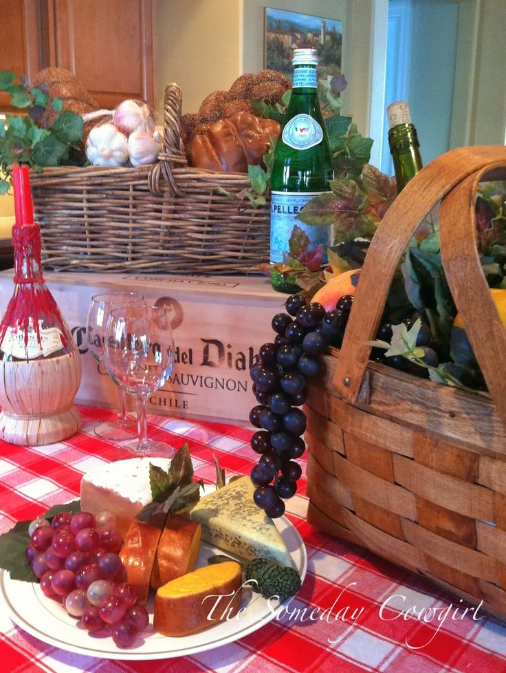 awesome decoration ideas for italian themed party