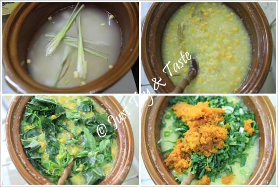 Resep Bubur Manado Super Mantap Resep Masakan Indonesia Resep Masakan Makanan Dan Minuman