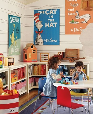Dr. Seuss™ Toddler Playroom | Pottery Barn Kids