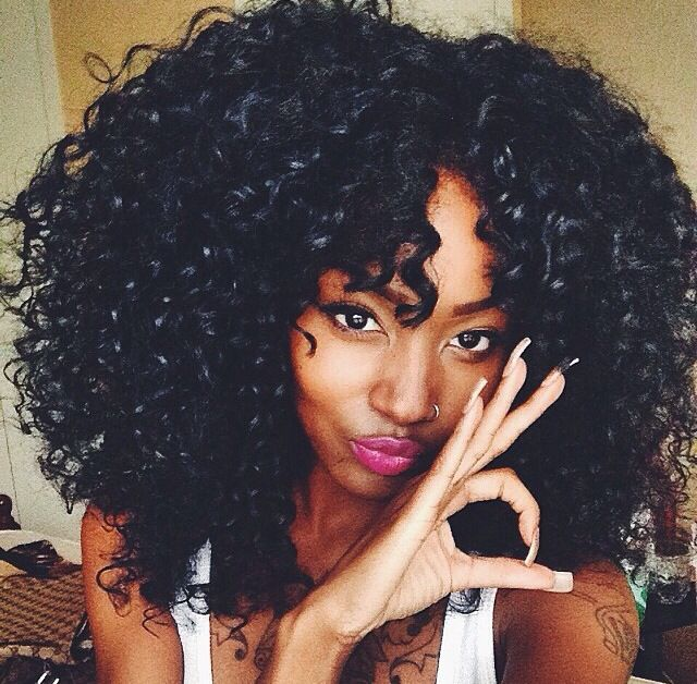 Men Do You Prefer Natural Hairstyles Or Hair Extensions On Black Women -7883