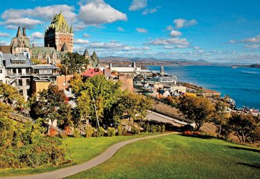 Quebec Canada - Sailing the Saint Lawrence seaway
