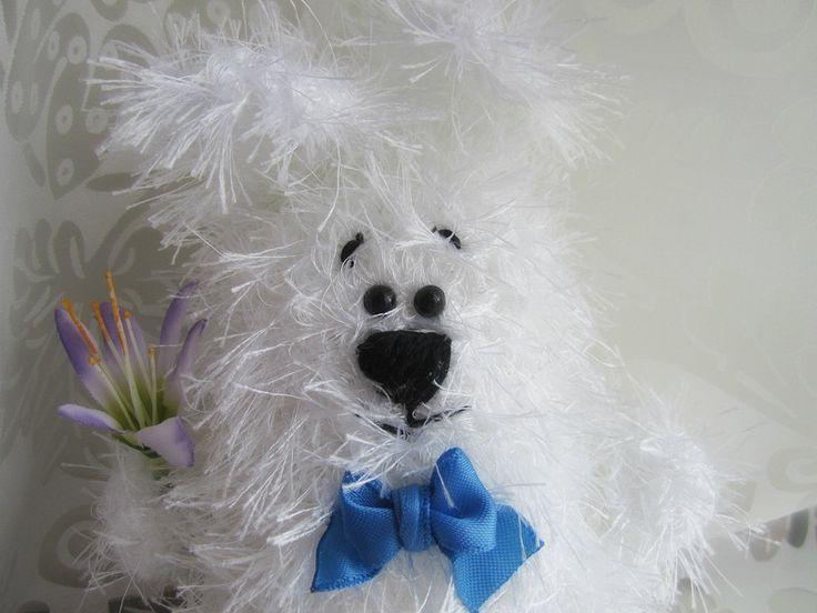 Peluches - Coniglio uncinetto, coniglietto peluche amigurumi - un prodotto unico di CrochetItaly su DaWanda