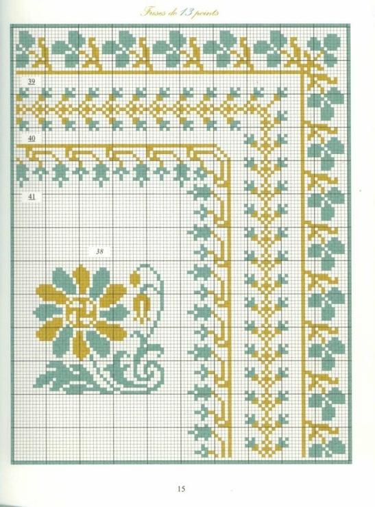 Borders in cross stitch 6