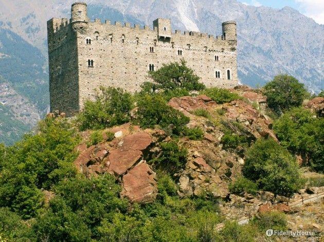 Castello di Ussel a Chatillon - Fidelity Foto