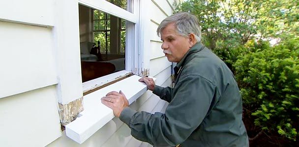 This Old House general contractor Tom Silva shares some tricks-of-the-trade for installing a new, long-lasting windowsill