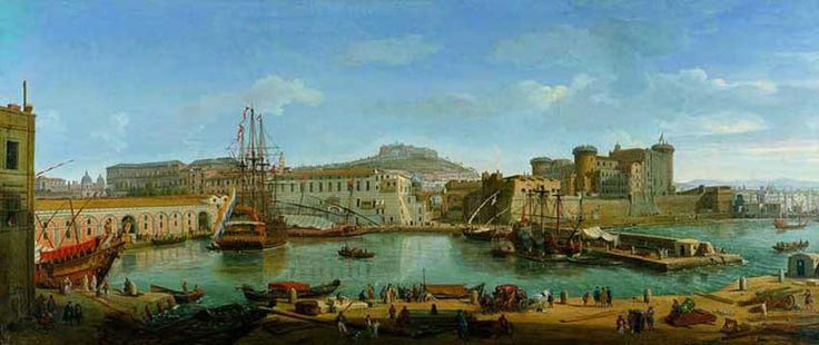 La dársena de Nápoles