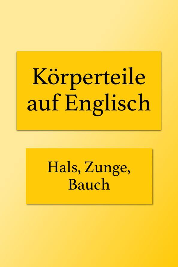 Bauch Auf Englisch