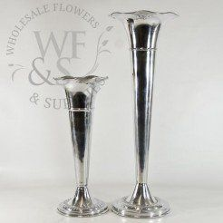 Silver Containers - Wholesale Vases, Cylinders and Containers - Wholesale Flowers and Supplies