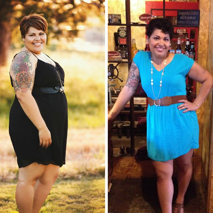 Lovely, empowering story of weight loss surgery and a journey towards loving her body