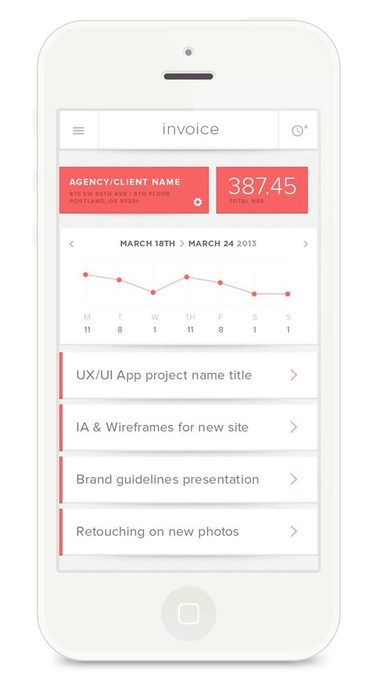 Mobile UI Design Inspiration